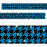 T85424 Border Trimmer Sparkle Houndstooth Blue