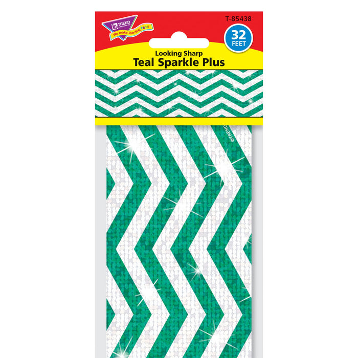 T85438 Border Trimmer Sparkle Look Sharp Teal Package