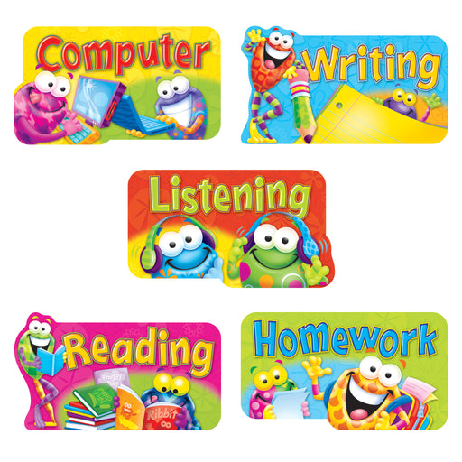 T8719 Bulletin Board Frog Center Signs