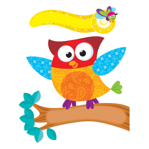T8765 Bulletin Board Owl Star