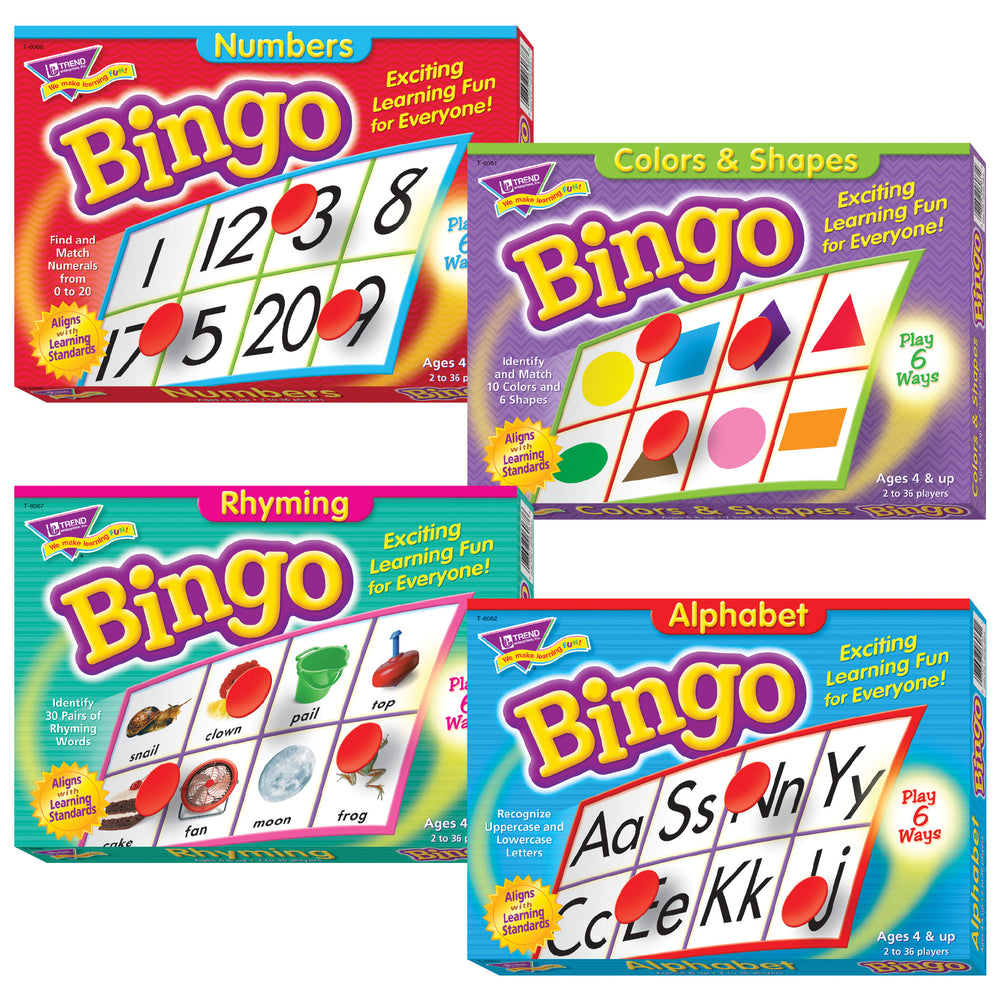 T90747 Beginner Bingo Combo 4 Pack
