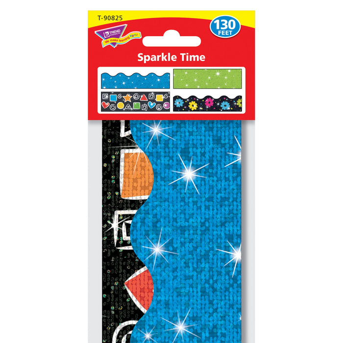 T90825 Border Trimmer 4 Pack Sparkle Time Package