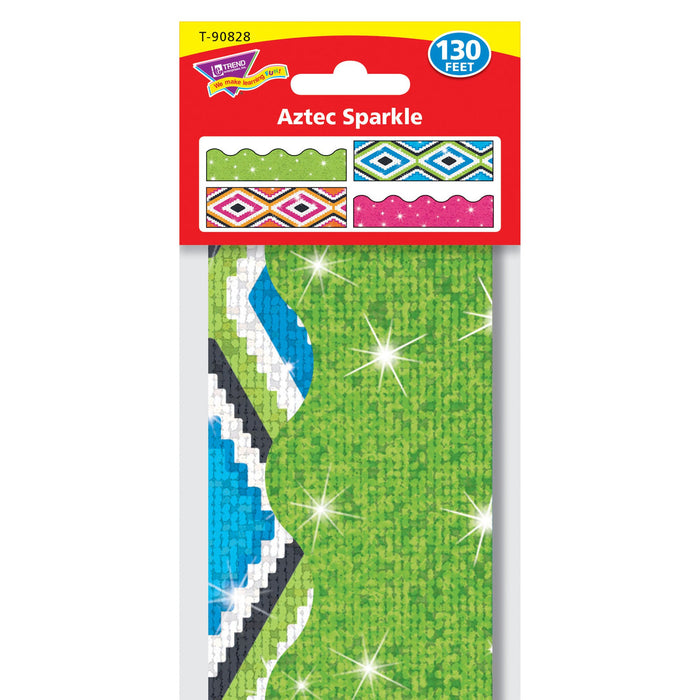 T90828 Border Trimmer 4 Pack Aztec Sparkle Package