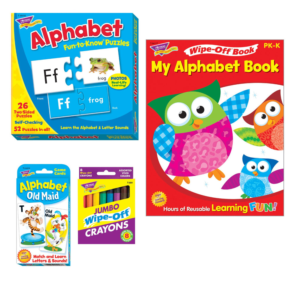 T90879 Learning Fun Pack Alphabet