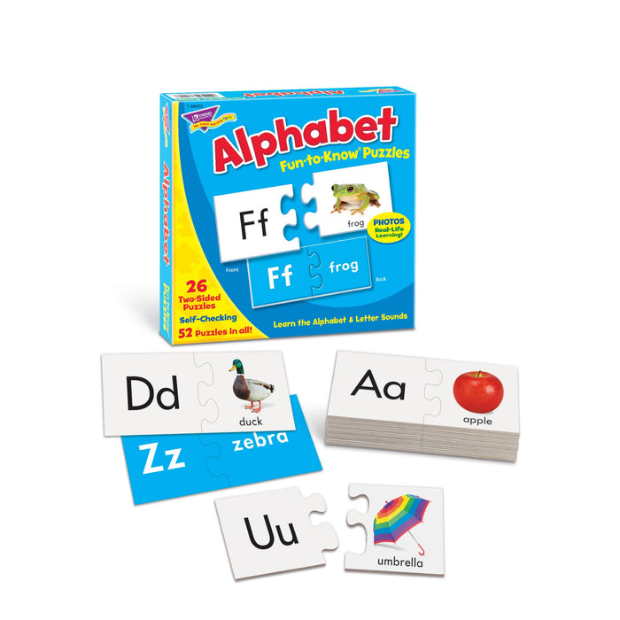 T90879 Learning Fun Pack Puzzle Alphabet