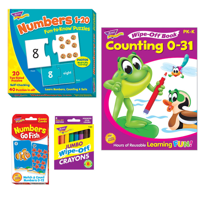 T90882 Learning Fun Pack Counting Numbers