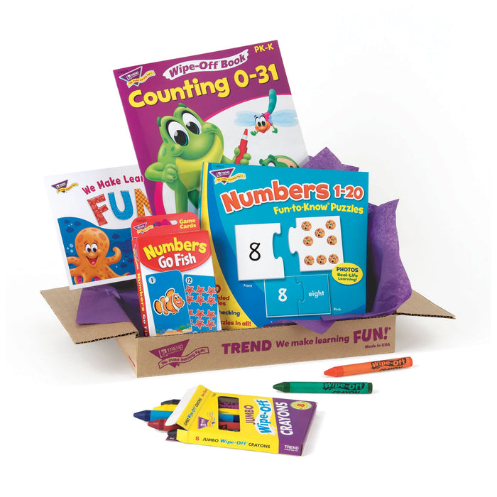T90882 Learning Fun Pack Counting Numbers Package