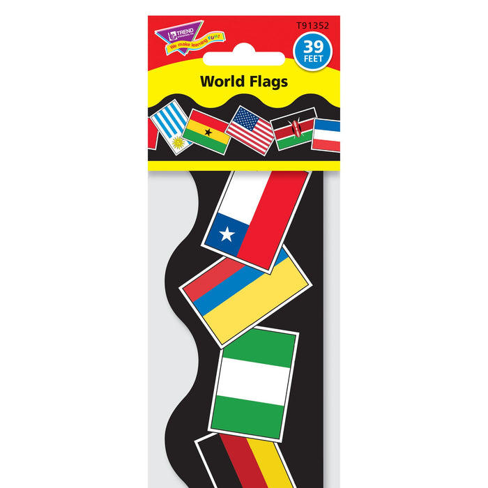 T91352 Border Trimmer World Flags Package