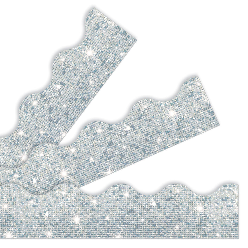 T91408 Border Trimmer Silver Sparkle