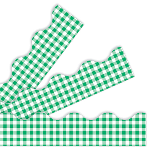 T92128 Border Trimmer Green Gingham