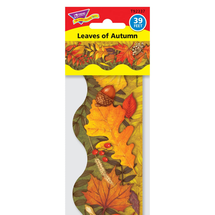 T92337 Border Trimmer Fall Leaves Autumn Package