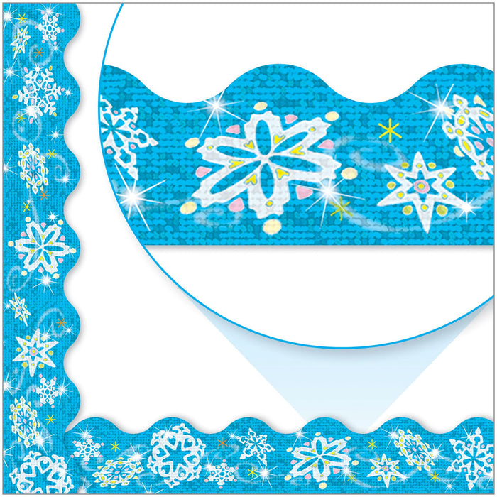 T92403 Border Trimmer Snowflake Sparkle