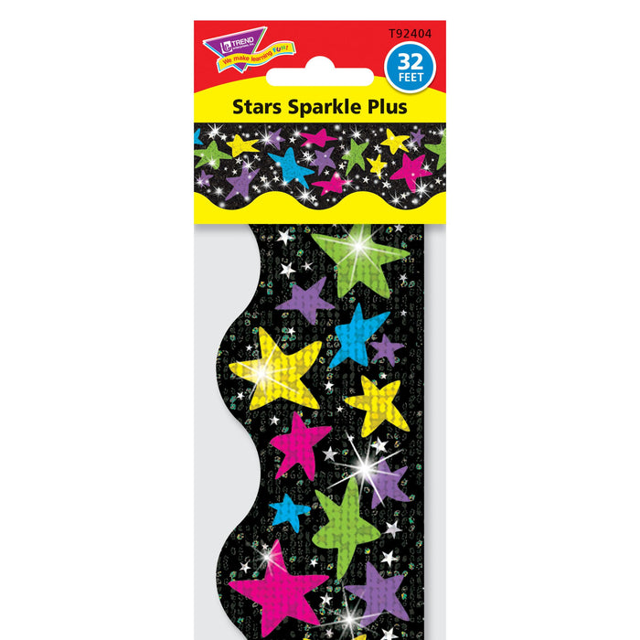 T92404 Border Trimmer Sparkle Stars Package