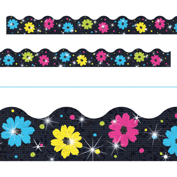 T92411 Border Trimmer Flower Daisy Sparkle