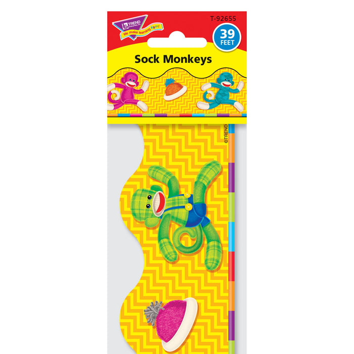 T92655 Border Trimmer Sock Monkey Package