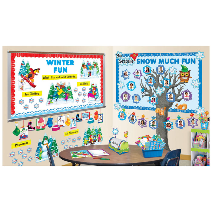 T92663 Border Trimmer Polka Dot Red Classroom