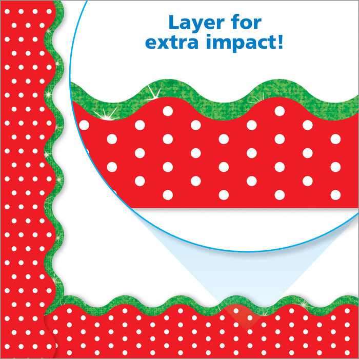 Polka Dots Red Terrific Trimmers®