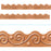 T92680 Border Trimmer Metal Copper Scrolls