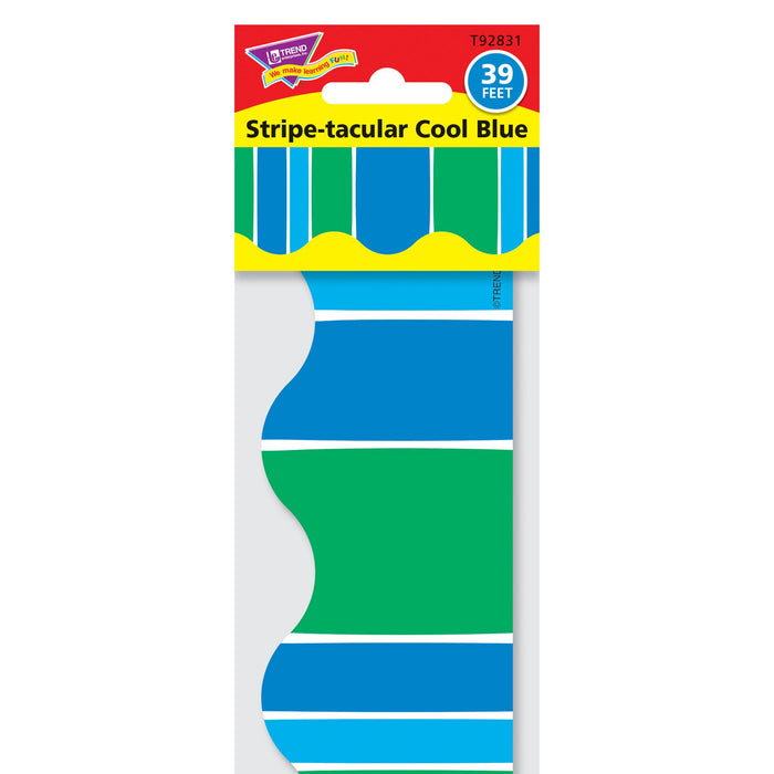 T92831 Border Trimmer Stripe Cool Blue Package