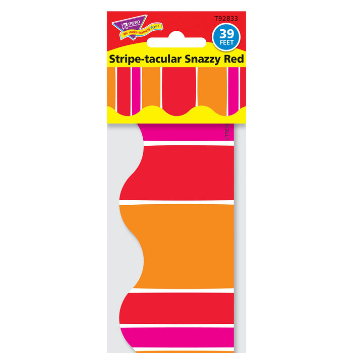 T92833 Border Trimmer Stripe Snazzy Red Package