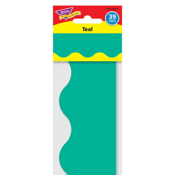 T92857 Border Trimmer Solid Teal Package