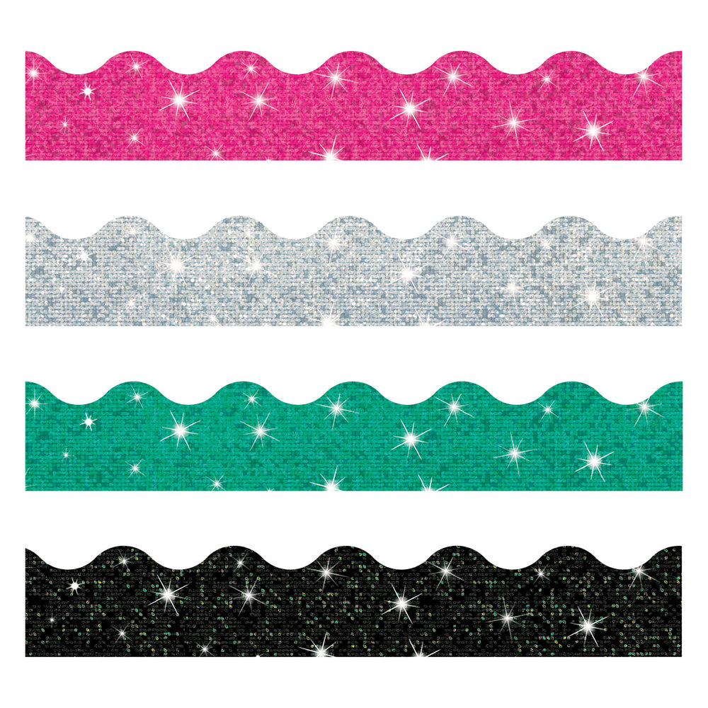 T92929 Border Trimmer 4 Pack Sparkle Solids
