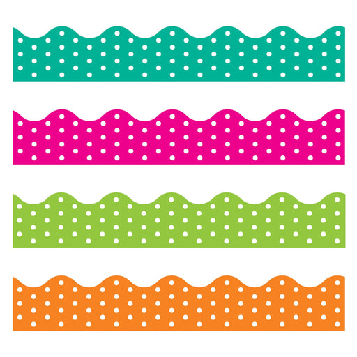 T92932 Border Trimmer 4 Pack Polka Dots