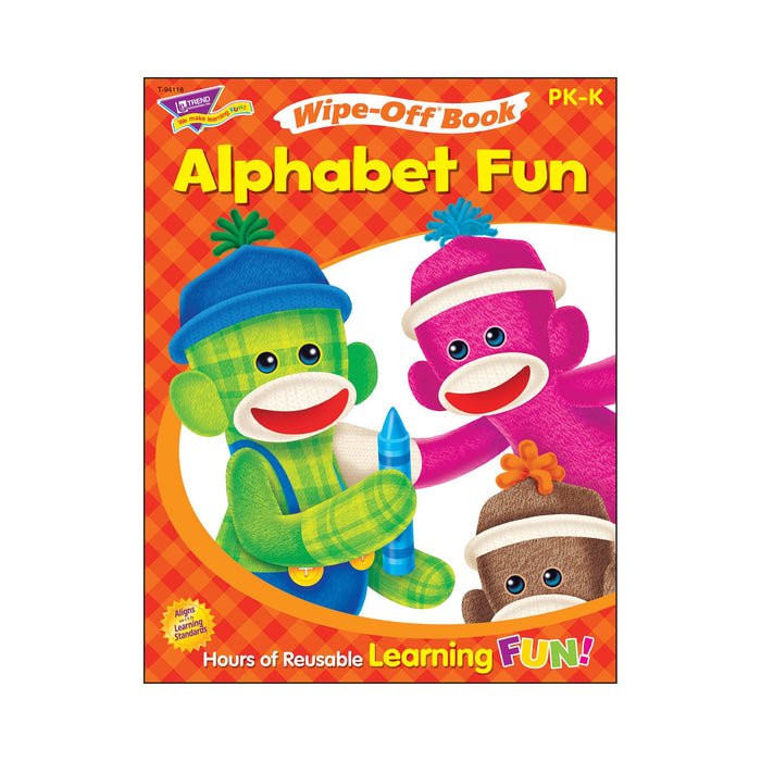 T94118 Wipe Off Book Alphabet Fun Cover
