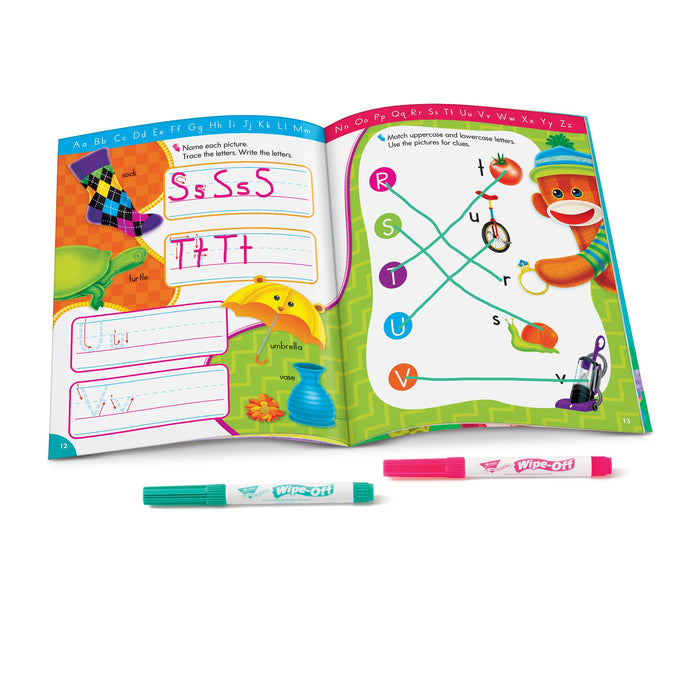 T94118 Wipe Off Book Alphabet Fun