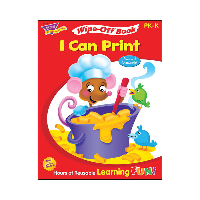 T94120 Wipe Off Book I Can Print Cover