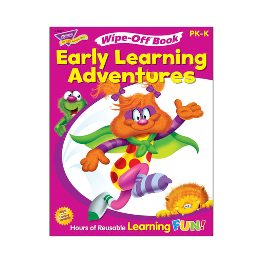 T94127 Wipe Off Book Early Learning Cover