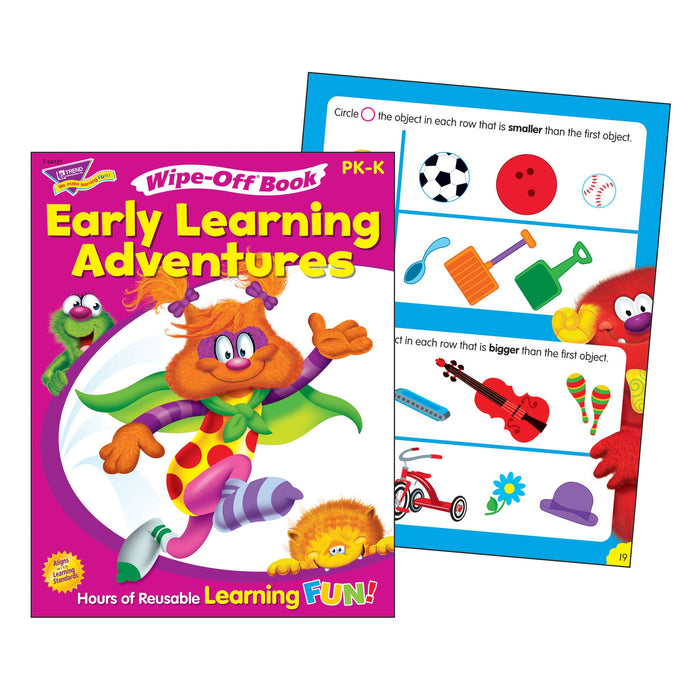 T94127 Wipe Off Book Early Learning