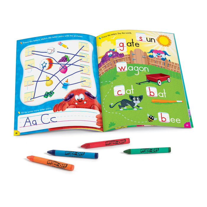 T94145 Wipe Off Book Learn to Print