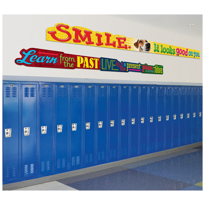 TA25205 Banner 10 Feet Smile School