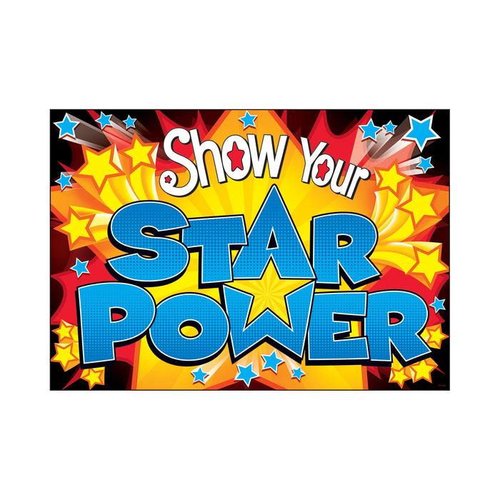 TA67047 ARGUS Poster Star Power