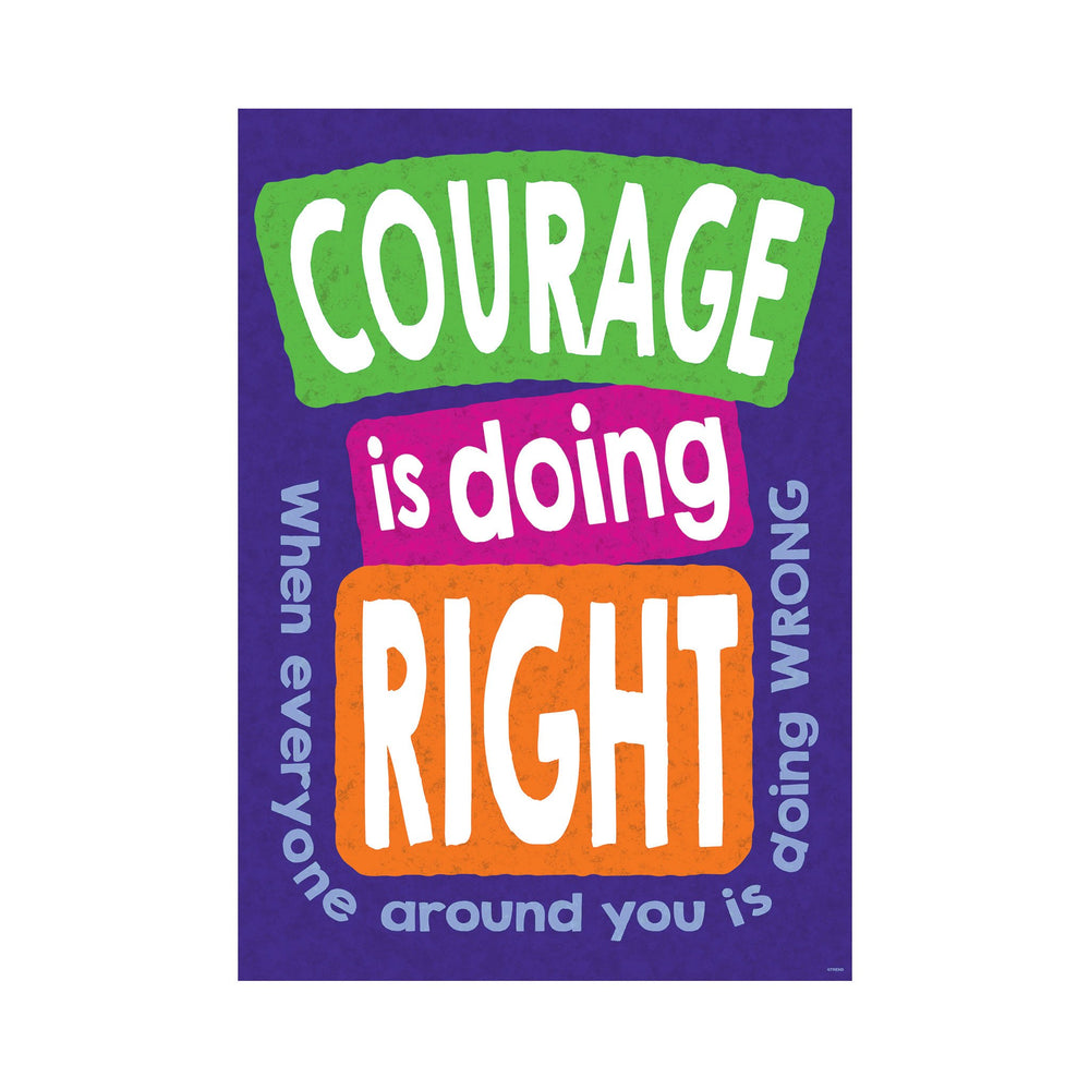 TA67069 ARGUS Poster Courage Right