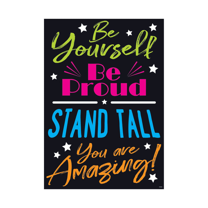 TA67091 ARGUS Poster Be Yourself Be Proud