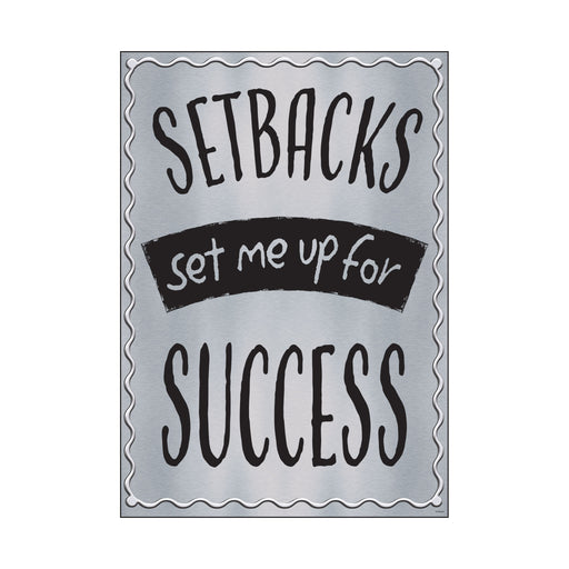 SETBACKS set me up for… ARGUS® Poster