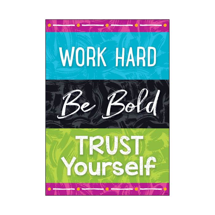 WORK HARD Be Bold TRUST… ARGUS® Poster