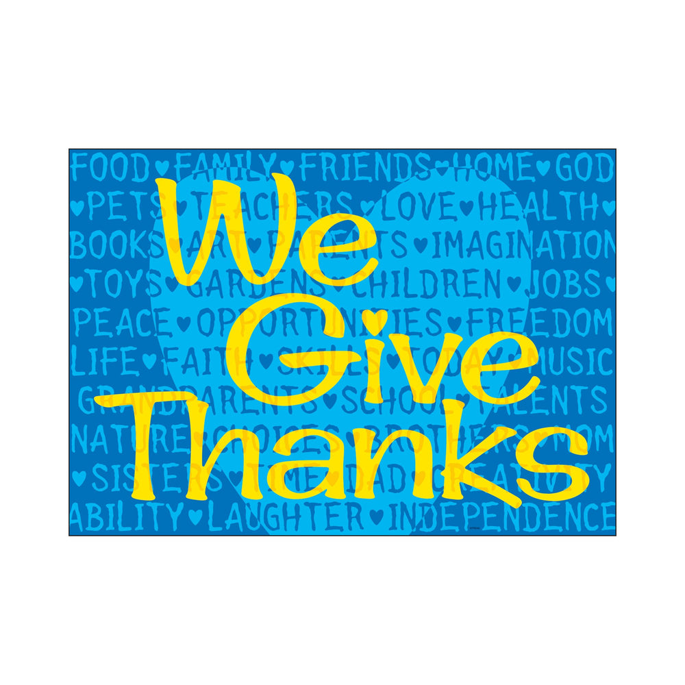 TA67705 ARGUS Poster We Give Thanks