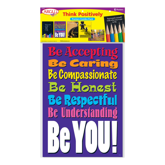 TA67909 ARGUS Poster Pack Think Positive