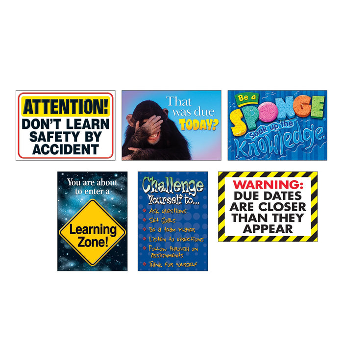 TA67933 ARGUS Poster Pack Learn Zone