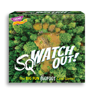 Product image of game box for sqWATCH OUT!™ Three Corner™ fun railroad train card game for kids