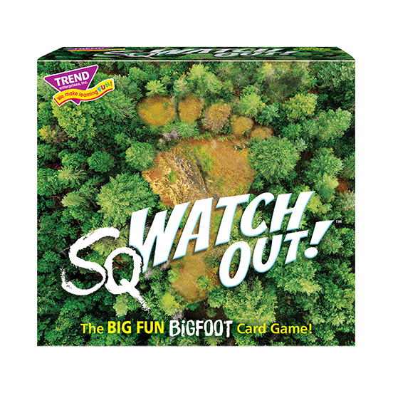 sqWATCH OUT!™ Three Corner Card Game