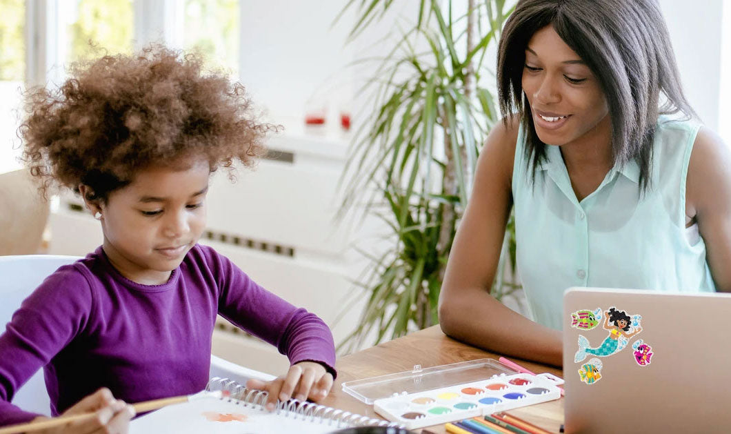 tips for teaching kids school at home