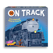 Product image of game box for ON TRACK™ Three Corner™ fun card game for kids
