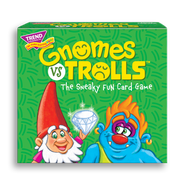 Product image of game box for GNOMES vs TROLLS™ Three Corner™ fun card game for kids