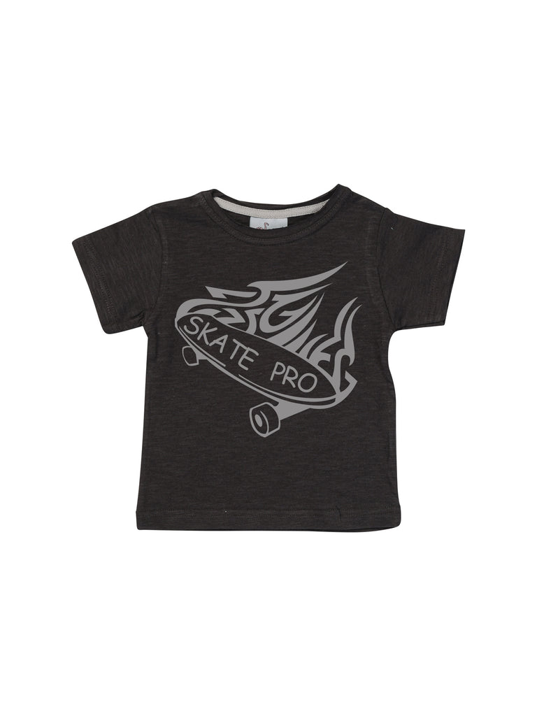 black skate pro shirt for boy miss flamingo kids
