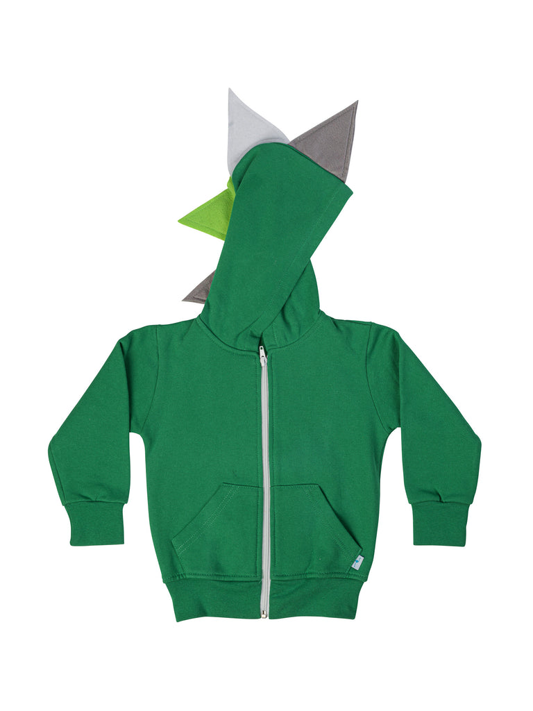 green dinosaur hoodie for boy miss flamingo kids