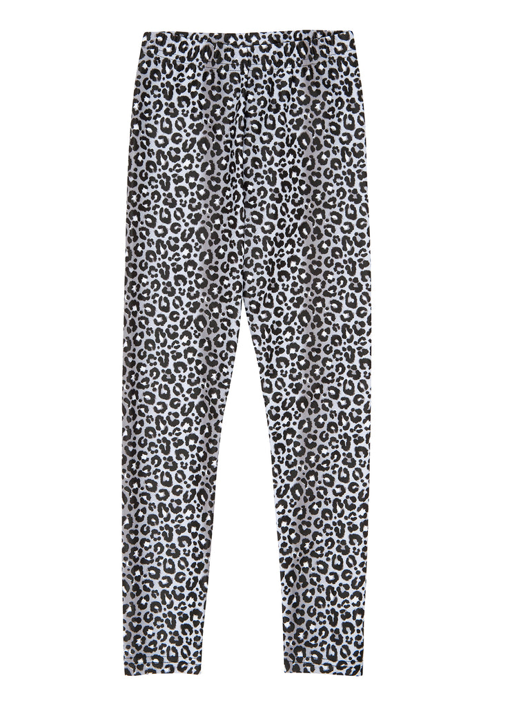 grey leopard legging for girl miss flamingo kids